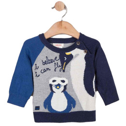 Catimini Nomade Garcon Air Of Simplicity Penguin Sweater