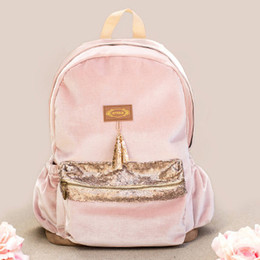 Joyfolie Lexi Backpack - Blush Velvet