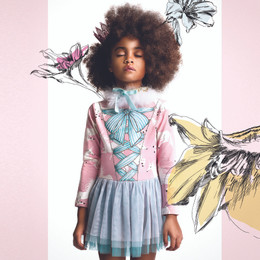 Paper Wings Tutu Dress - Almost Real