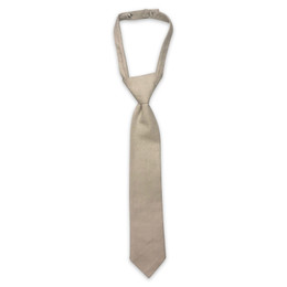 Little Prim Boy's Becket Necktie - Linen