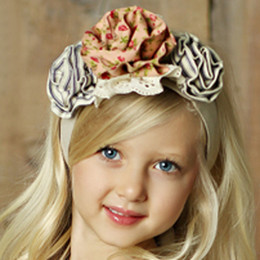Little Prim Lottie Headband (Belt/Headband) - Linen