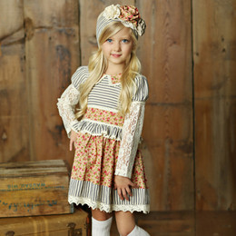 Little Prim Charlotte Dress - Rose Garden (*Lace Top Sold Separately*)
