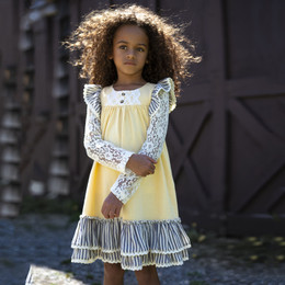 Little Prim Genevieve Dress - Butter (*Lace Top Sold Separately*)