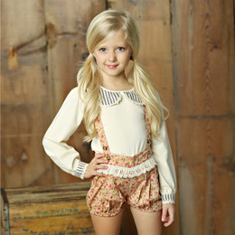 Little Prim Nelly Bloomers - Rose Garden (*Top Sold Separately*)