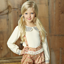 Little Prim Prim Top - Ticking Stripe