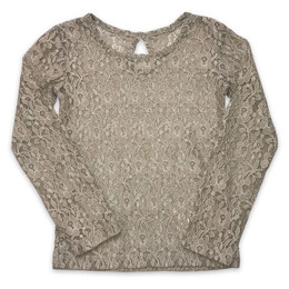 Little Prim Lilly Top - Linen Lace