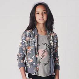 Jak & Peppar Dishwalla Jimmy Thing Bomber Jacket
