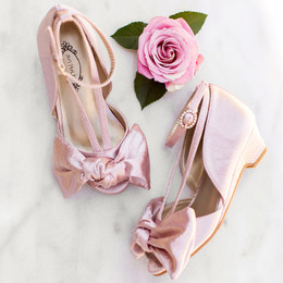 Joyfolie Lucia Heel - Blush Satin