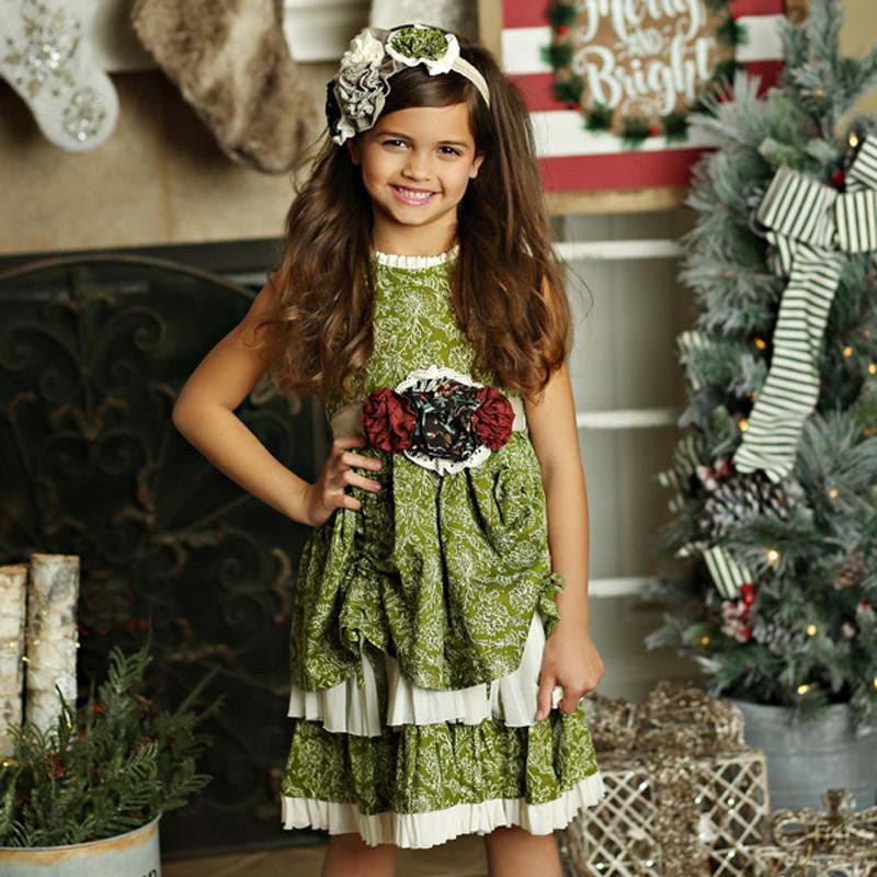 9fbe61d8ff Mustard Pie Holiday Emmaline Dress - Holly