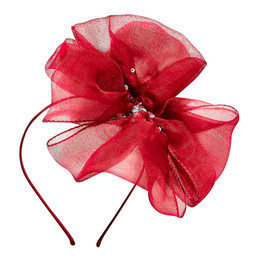 Tutu Du Monde  Once Upon A Holiday Maya Bow Headband - Cherry