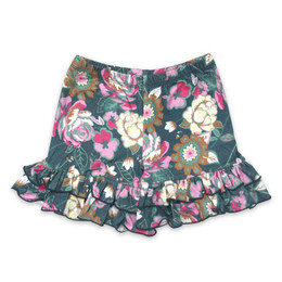 Mustard Pie  Summer Glen Ella Shortie - Floral