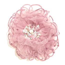 Ooh La La Couture Enchanted Forest Flower Clip - Lilac