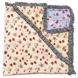 Mustard Pie  Strawberry Fields Emmie Reversible Blanket (*New Style!*)