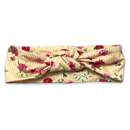 Mustard Pie  Strawberry Fields Gidget Headband - Sunshine