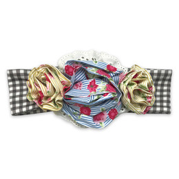 Mustard Pie  Strawberry Fields Flora Headband