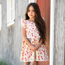 Mustard Pie  Strawberry Fields Alice Dress