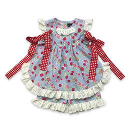 Mustard Pie  Strawberry Fields Eloise 2pc Set - Bluebell (*New Style*)