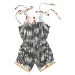 Mustard Pie  Strawberry Fields Posey Romper (*New Style*)