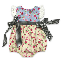 Mustard Pie  Strawberry Fields Imogen Romper