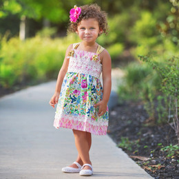 Haute Baby  Floral Fantasy Dress