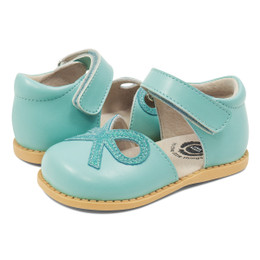 Livie & Luca Bow Shoes - Turquoise (Spring 2019)