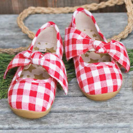 Livie & Luca Halley  Shoes - Red Gingham