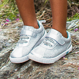 Livie & Luca Spin Shoes - Silver Metallic (Spring 2019)