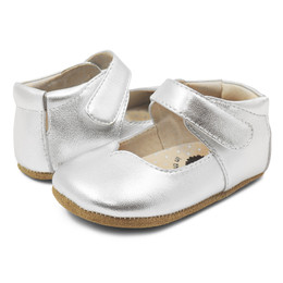 Livie & Luca Astrid Baby Shoes - Silver Metallic (Spring 2019)