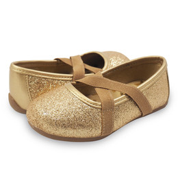Livie & Luca Aurora Shoes - Gold Sparkle (Spring 2019)