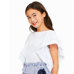 Habitual Girl Alala Flutter Sleeve Top - White