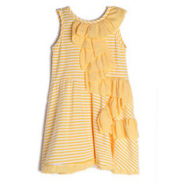 Isobella & Chloe Hello Sunshine Knit Dress - Yellow
