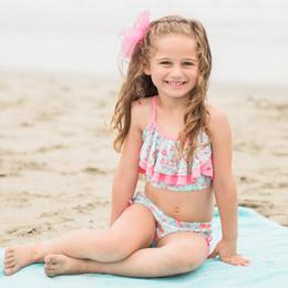 Isobella & Chloe Brianna 2pc Bikini Swimsuit - Sage