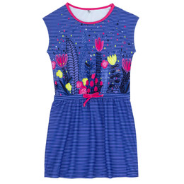 Deux Par Deux Splish Splash Beach Cover-Up Dress - Flower Fields