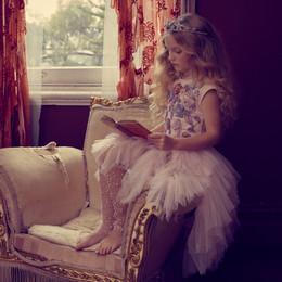 Tutu Du Monde Days Of Innocence She Blooms Tutu Dress - Porcelain Pink