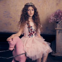 Tutu Du Monde Days Of Innocence Ruby Roses Tutu Dress - Porcelain Pink