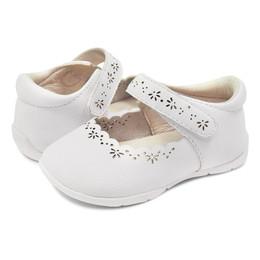 Livie & Luca Lily First Walker Shoes - Bright White  (Summer 2019)