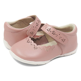 Livie & Luca Lily First Walker Shoes - Rose Shimmer (Summer 2019)