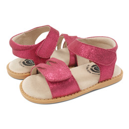 Livie & Luca  Athena Sandals - Magenta Shimmer (Summer 2019)