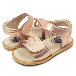 Livie & Luca  Athena Sandals - Rosegold Metallic (Summer 2019)