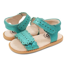 Livie & Luca  Posey Sandals - Aqua Shimmer (Summer 2019)