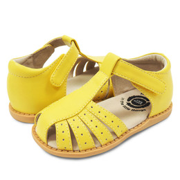Livie & Luca  Paz Sandals - Lemon Yellow (Summer 2019)