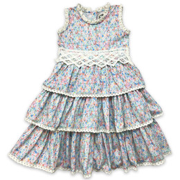 Little Prim  Into The Clouds Felicity Dress - Floral
