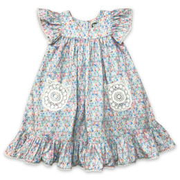 Little Prim  Into The Clouds Ryan Dress - Floral