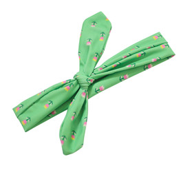 Blueberry Bay Swim Headwrap - Green Tulip