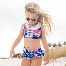 Blueberry Bay Primrose Court 2pc Swimsuit