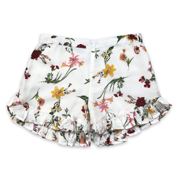 Jak & Peppar  Fair Isle Maron Short - Floral