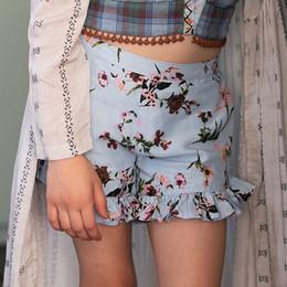 Jak & Peppar  Fair Isle Maron Short - Sky Blue Floral