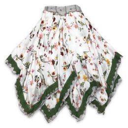 Jak & Peppar  Fair Isle Josefina Skirt - Floral