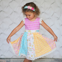Giggle Moon Joy & Gladness  Lynda Lou Dress