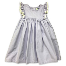 Little Prim  Farm Fresh Violet Dress - Lavender